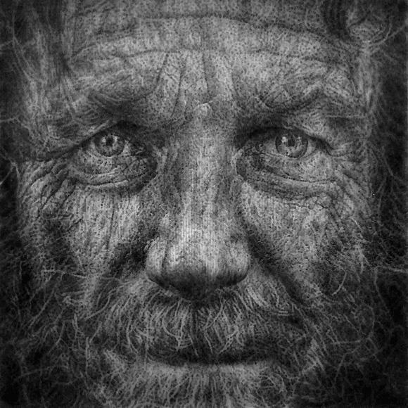 INDIGENTE IMAGINARIO - Collage Puntillista - Josep Mora