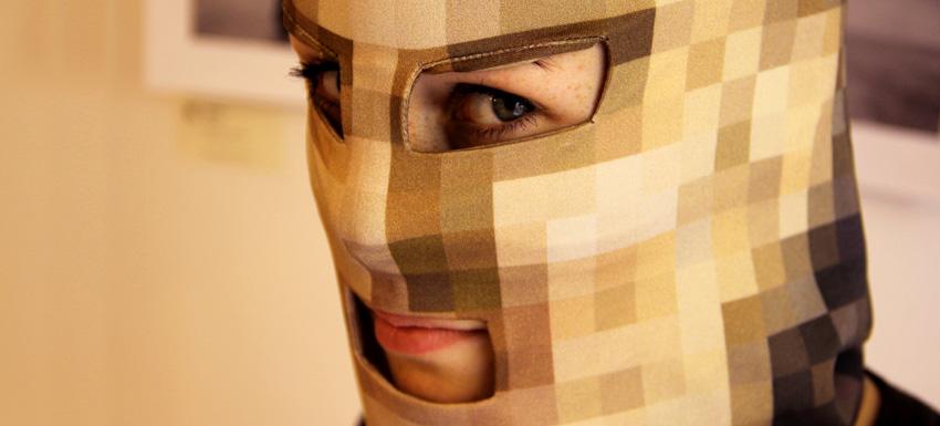 Pixelhead – La cabeza pixelada – una declaración a favor de la privacidad – Martin Backes