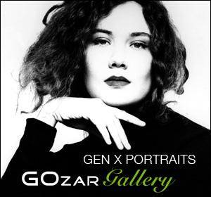 Exposición de fotografías - Generation X Portraits - GOZAR Gallery - Barcelona