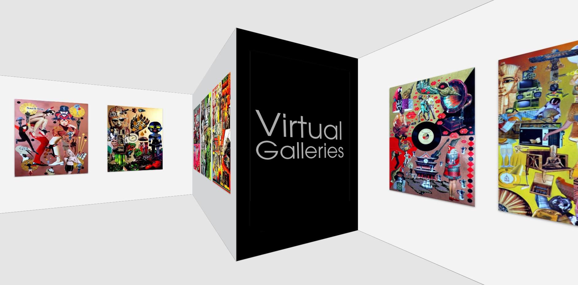Galerías virtuales de arte online