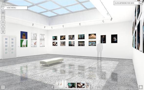 Galerías virtuales de arte online - Exhibbit