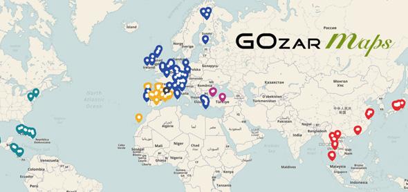 Mapas interactivos - GOZAR Maps