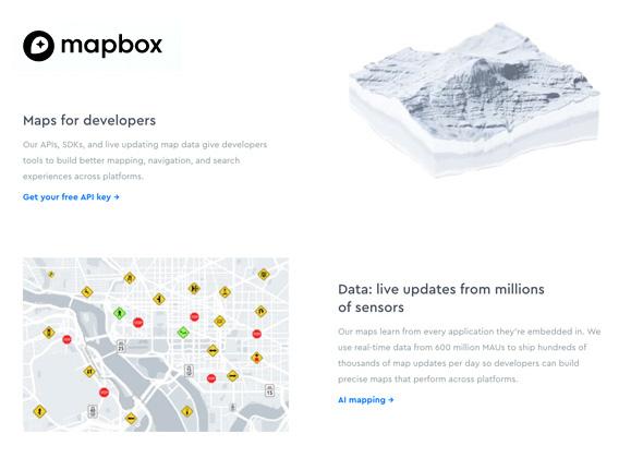 Mapas interactivos - Mapbox