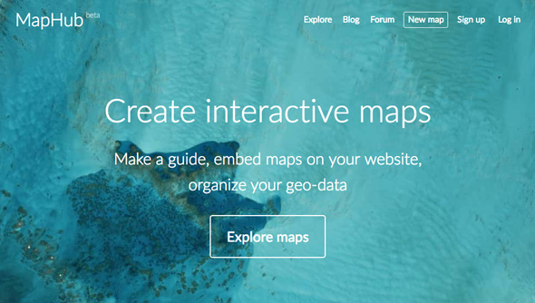 Mapas interactivos - Map Hub