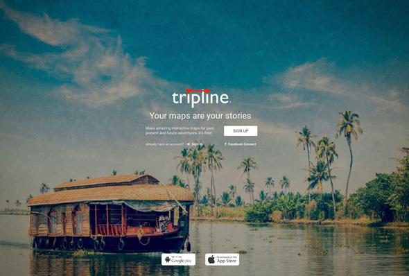 Mapas interactivos - Trip Line