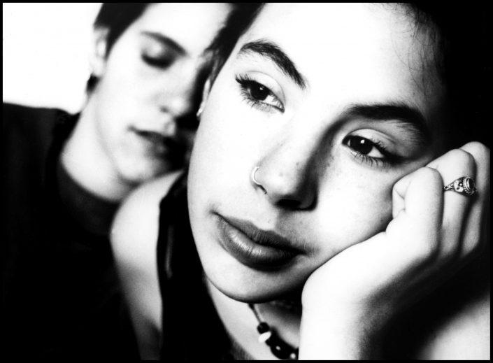 Laia & Nara (Barcelona. February 1995)