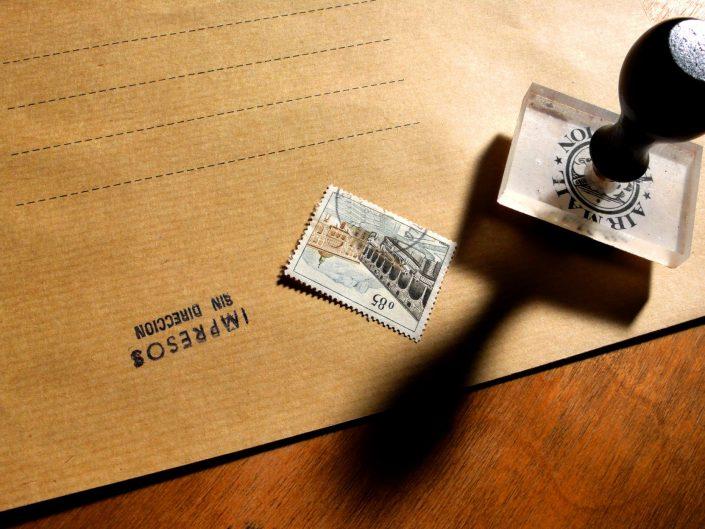 Envelope with no address (Barcelona. 2016)