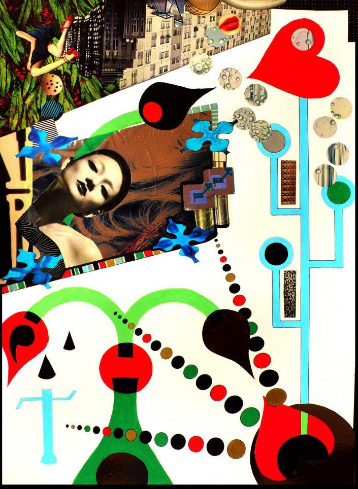 BUBBLE MAKER (Seeder Collage. April 2007)