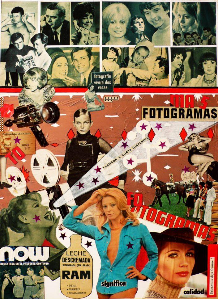 MÁS FOTOGRAMAS (Seeder Collage. December 2007)