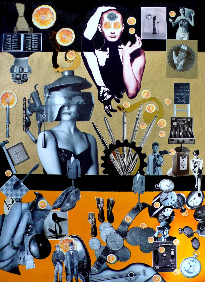 TIME JUICE (Seeder Collage. October 2008)