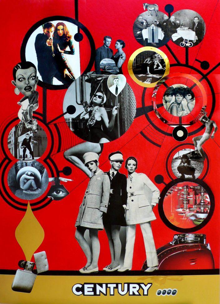 CENTURY SPIDER (Seeder Collage. November 2008)