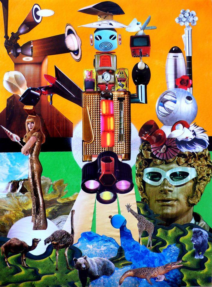ALIEN LOVE (Seeder Collage. December 2008)