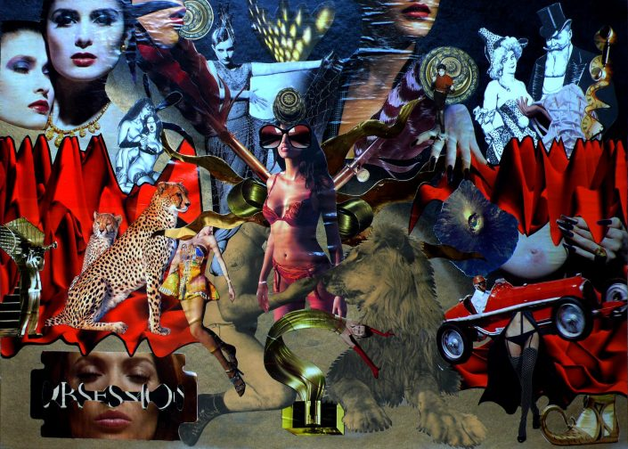 HOLDING OBSESSION (Seeder Collage. April 2011)