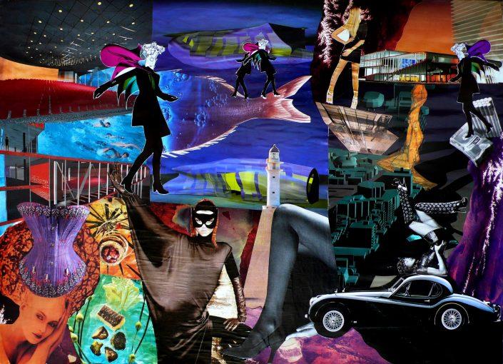 NEURO ESCAPE (Seeder Collage. March 2012)