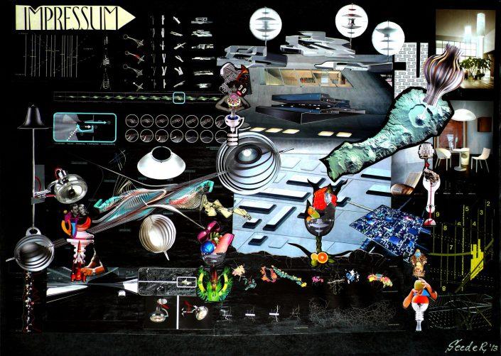 IMPRESSUM GALAXY (Seeder Collage. May 2013)