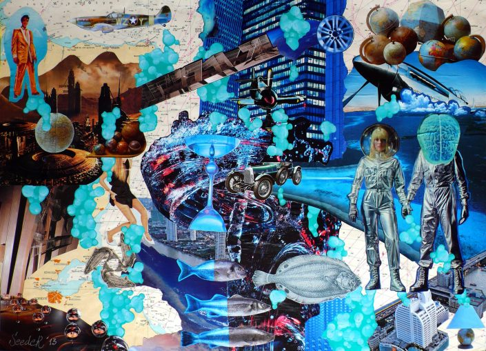 BUBBLE DISCOVERY (Seeder Collage. June 2013)