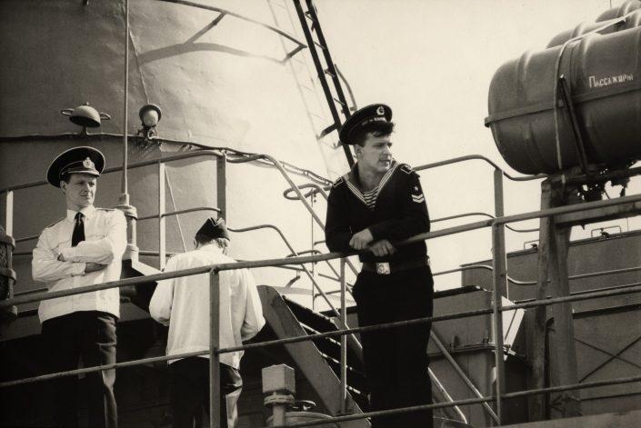 Russian Captain - Port Vell (Barcelona. March 1993)