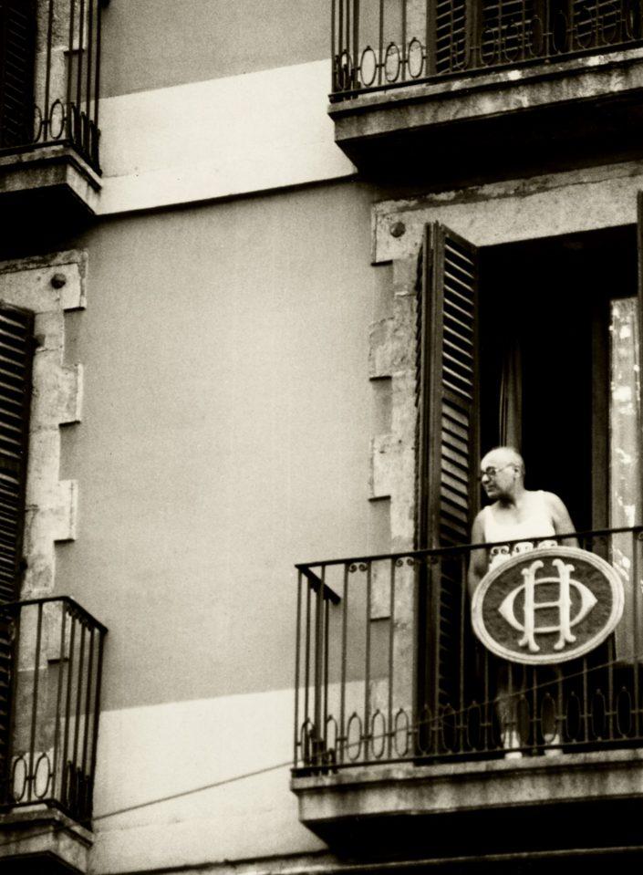 Hotel Balcony - La Rambla (Barcelona. September1991)