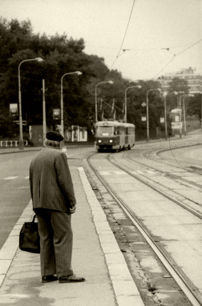 Waiting for the Tram (München, Germany. August 1991)