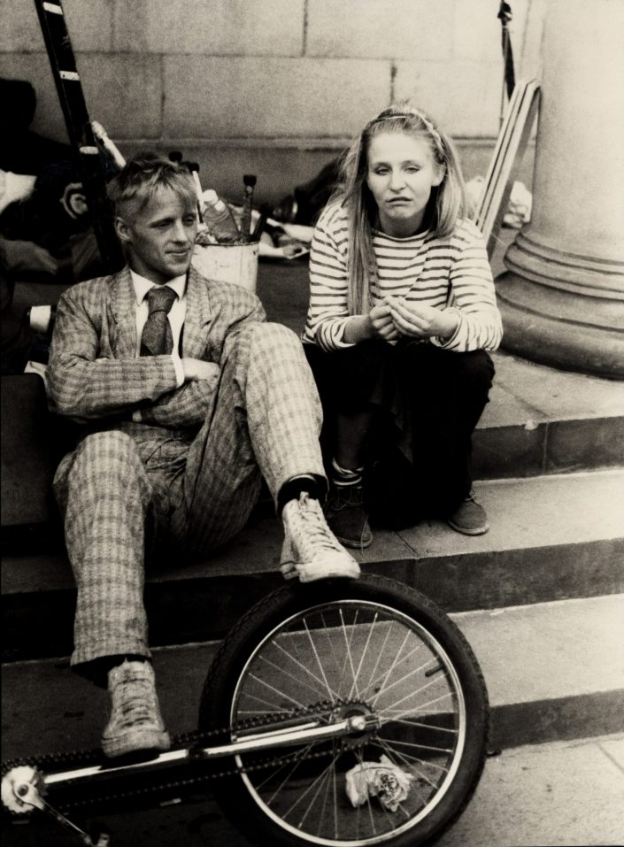 Street Performers - Fringe Festival (Edinburgh, UK. August 1989)