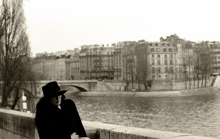 La Seine Woman (Paris, France. March 1993)