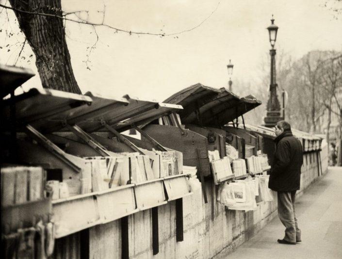 Books Seller (Paris, France. March 1993)