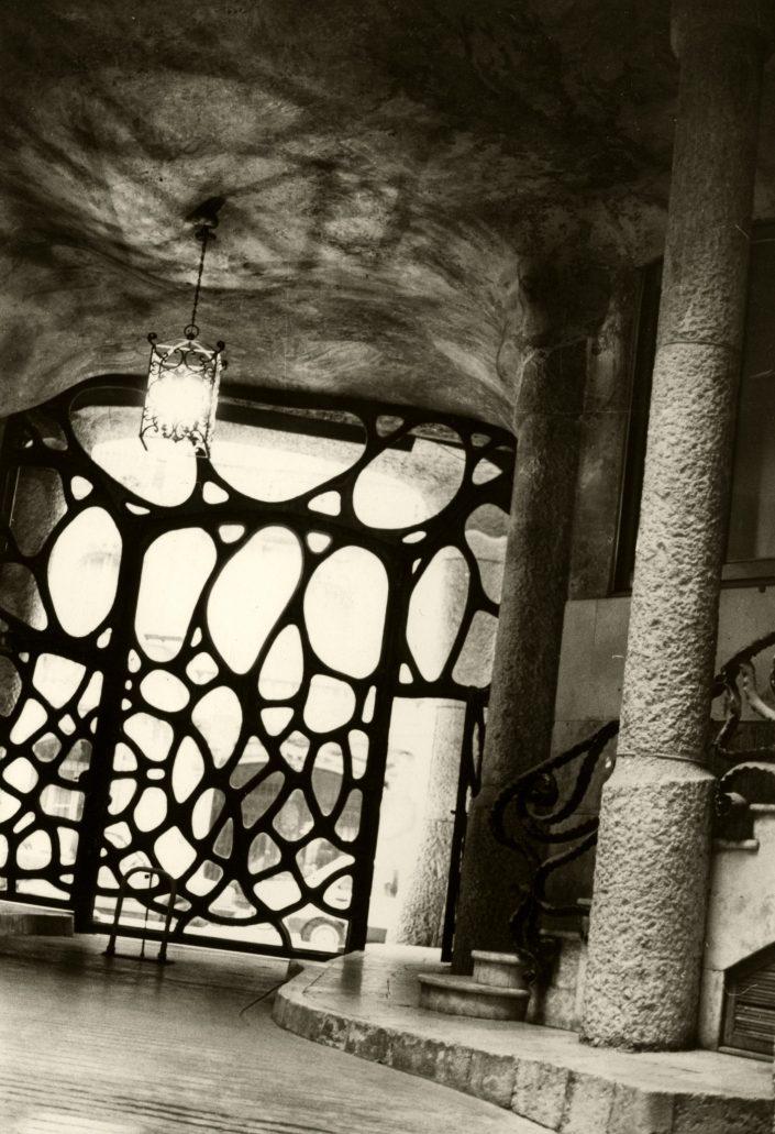 Gaudi Gate - La Pedrera (Barcelona. January 1990)