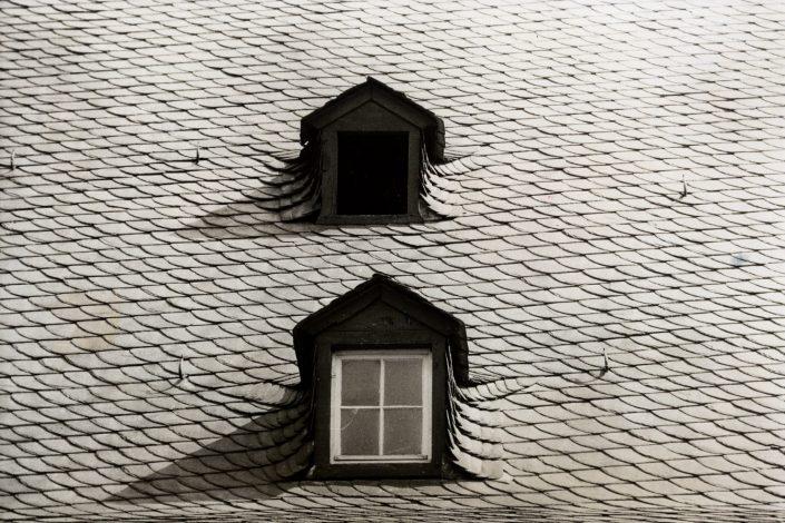 Twin Windows (Schaffhausen, Germany. August 1991)