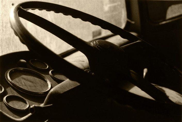 Truck's Driving Wheel - Poblenou (Barcelona. July 1989)
