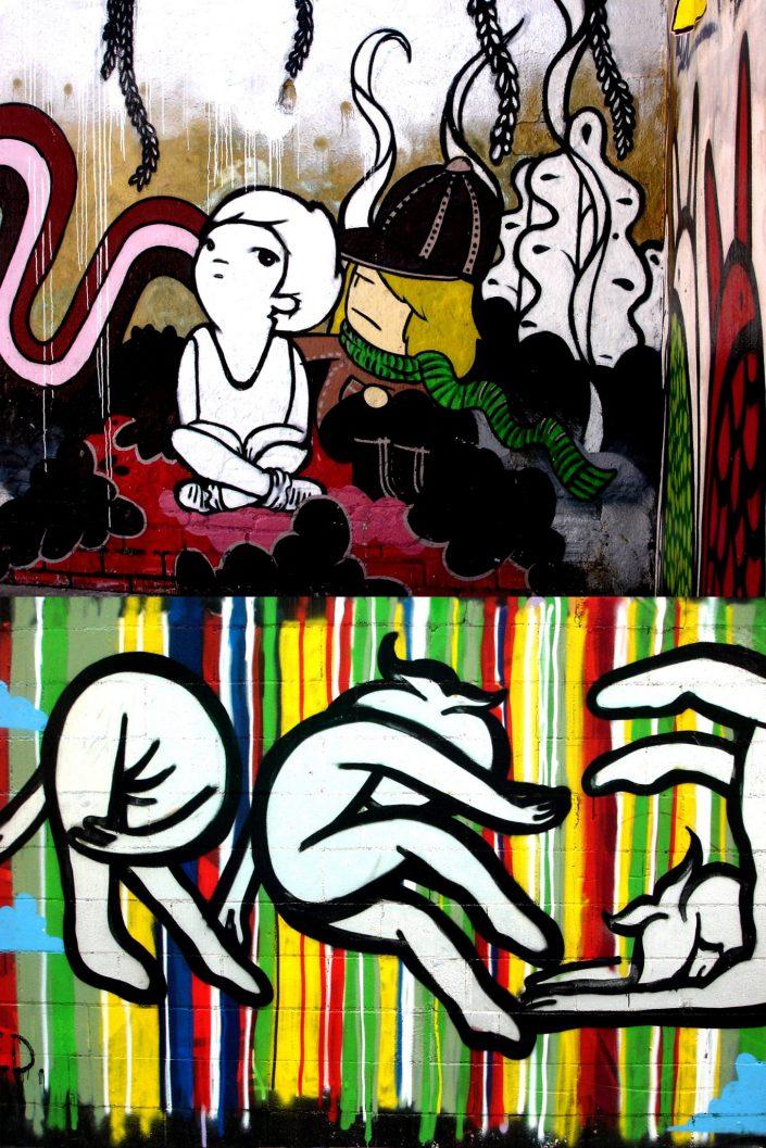 Lolo + Freakclub :: Barcelona Street Art (Stencil Voices. 2003 - 2006)