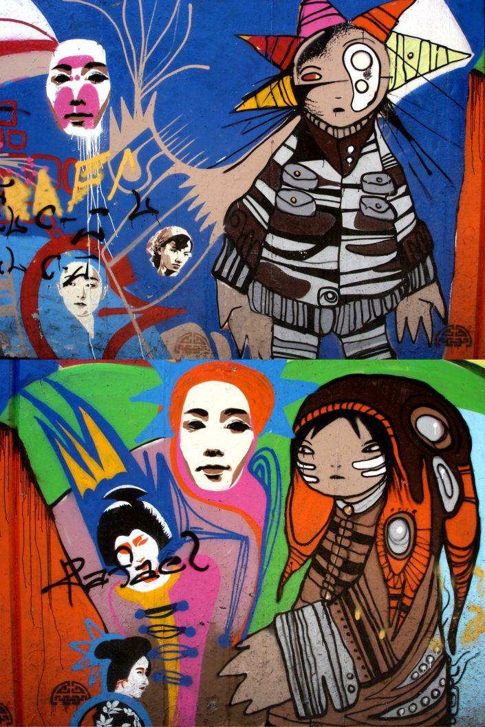 B-toy :: Barcelona Street Art (Stencil Voices. 2003 - 2006)