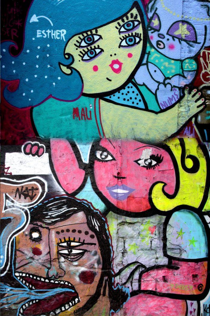 Malicia :: Barcelona Street Art (Stencil Voices. 2003 - 2006)