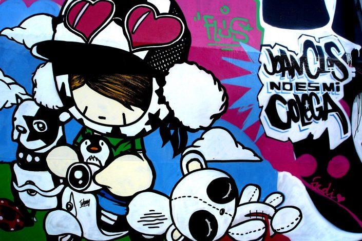 TV Boy :: Barcelona Street Art (Stencil Voices. 2003 - 2006)