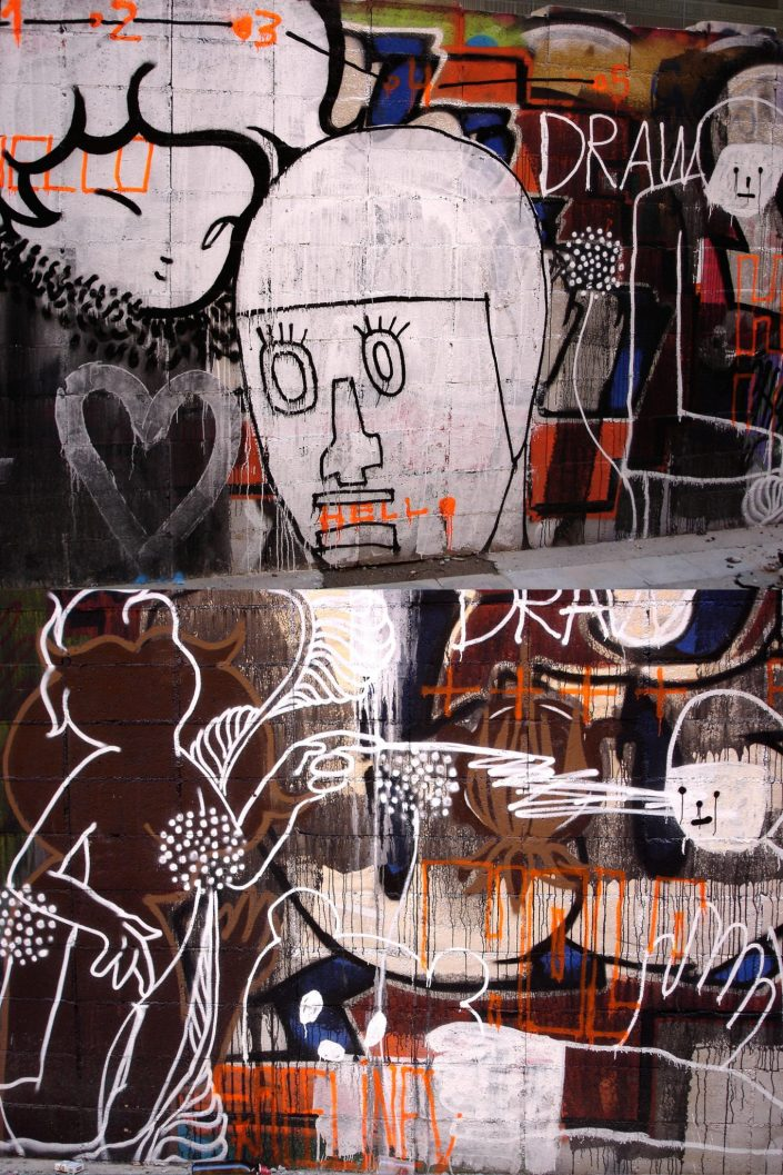 Lolo + Sozaku :: Barcelona Street Art (Stencil Voices. 2003 - 2006)