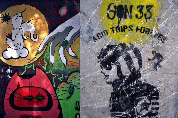 Diva + Dr. Hoffman :: Barcelona Street Art (Stencil Voices. 2003 - 2006)