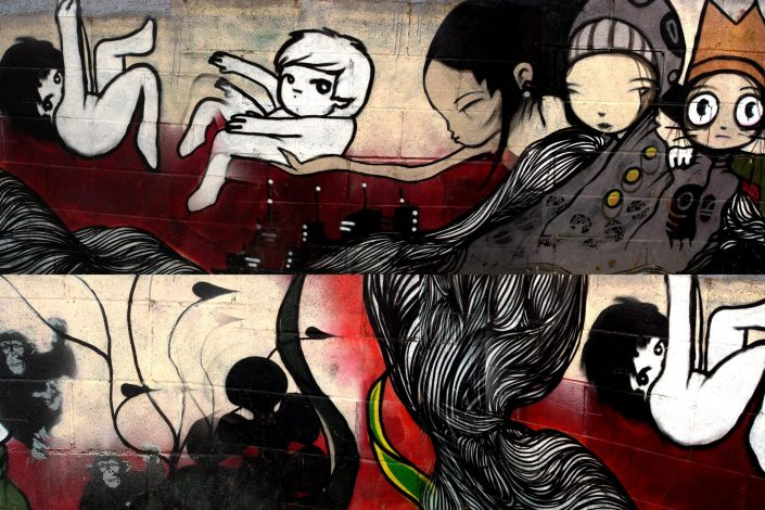 Lolo + B-toy :: Barcelona Street Art (Stencil Voices. 2003 - 2006)