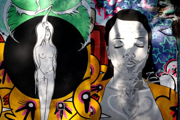 Diva :: Barcelona Street Art (Stencil Voices. 2003 - 2006)