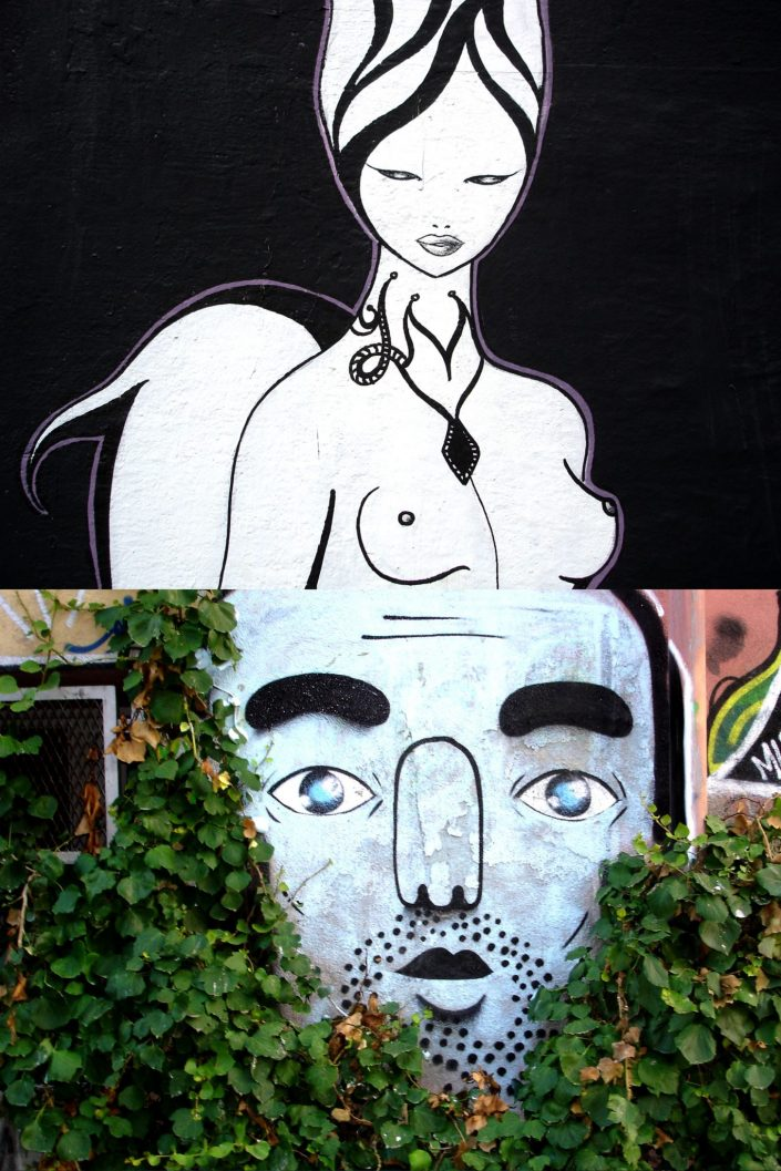 Diva :: Barcelona Street Art (Stencil Voices. 2003 - 2006)