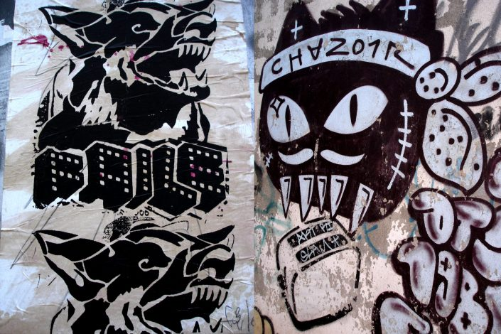 Faile + Chanoir :: Barcelona Street Art (Stencil Voices. 2003 - 2006)