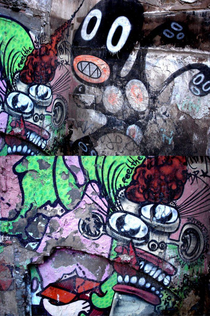 Barcelona Street Art (Stencil Voices. 2003 - 2006)