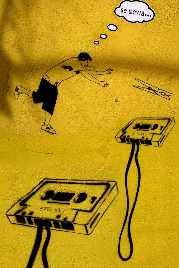 Barcelona Street Art (Stencil Voices. 2003 - 2006)