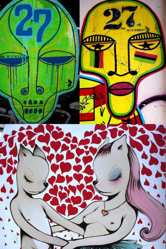 Dr. Hoffman + Miss Van :: Barcelona Street Art (Stencil Voices. 2003 - 2006)
