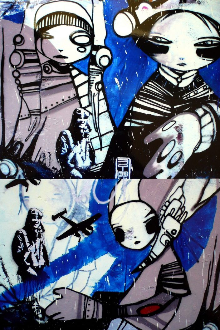 B-toy :: Barcelona Street Art (Stencil Voices. 2003 - 2006)
