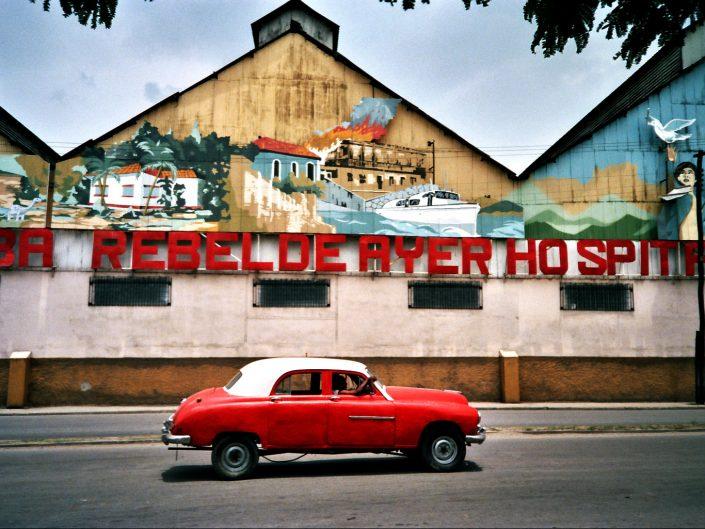 Rebelde ayer. Santiago de Cuba. 2004