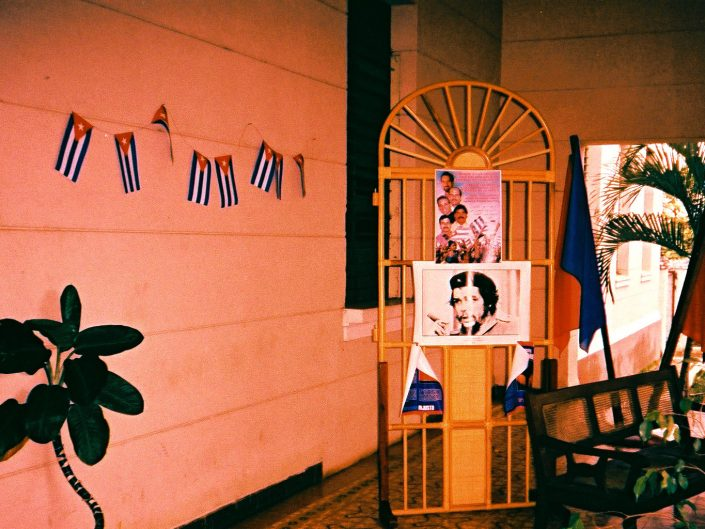 Che Guevara. Trinidad. Cuba. 2004