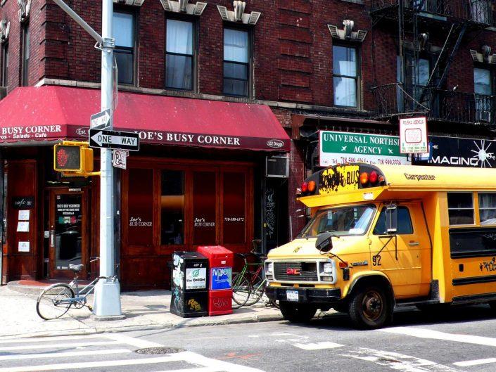 """Busy Corner"". Williamsburg. New York City. 2009"