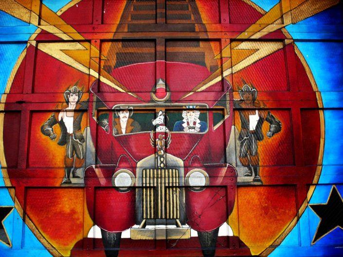 """""""Village Firemen"""". West Village. New York City. 2009"""