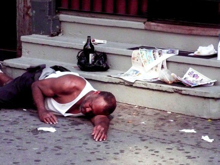 """Sunday Morning"". 8th Avenue. New York City. 2009"