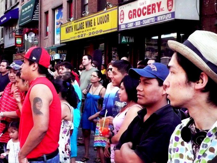 """Sunday Crowd"". 8th Avenue. New York City. 2009"
