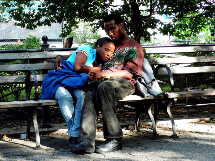 """Black Siesta"". New York City. 2009"